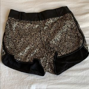 Honey punch sequins shorts